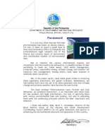 Foreword of DENR Secretary Ramon J.P. Paje for the book on Environmental Laws, Policies and Case Remedies