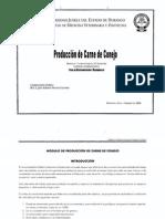 Modulo y Practicas de Prod. de Carne de Conejo