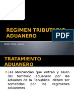 Regimen Tributario Aduanero