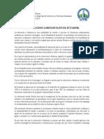 La Educacion a Distancia en El Ecuador