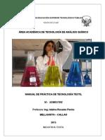 Manual de Practicas de Tec. Textil 2015