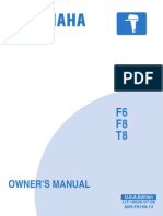 Yamaha f6 User Manual