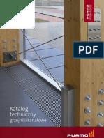 Purmo Katalog Techniczny Grzejniki Kanalowe AQUILO 03 2010 PL