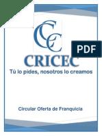 Ejemplo de Circular Oferta de Franquicia