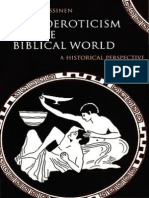 NISSINEN, Martti_Homoeroticism in the Biblical World, A Historical Perspective - Fortress 1998 - 225pp