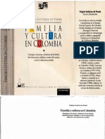 Gutierrez de Pineda Virginia Familia y Cultura en Colombia