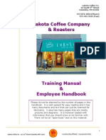 Coffee Roaster Official Training Manual