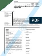 NBR 13532 - Elaboração de Projetos de Edificações