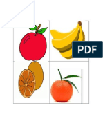 Healthy and Unhealthy Food Flashcard
