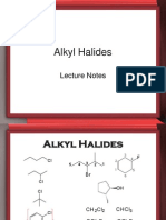 Reactions of Alkyl Halides-G
