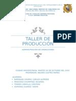 Taller de Producción