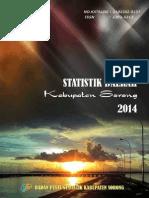 Statistik Daerah Kabupaten Sorong 2014