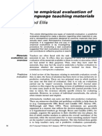 Evaluating And Selecting Efl Teaching Materials Pdf Free Download