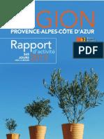 Région PACA Rapport Activité 2013