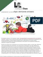 Educación y Tecnología_ Aterrizando Conceptos » Enrique Dans