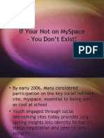 Myspace research findings