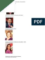 Ministros del Perú