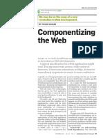 Componentizing the Web