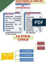Etica Civica Democracia Honestidad 3o Grado