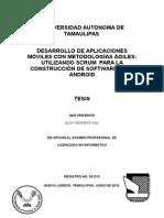 DESARROLLO DE APLICACIONES         MÓVILES CON METODOLOGÍAS ÁGILES: