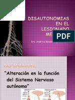 Disautonomias en El LM