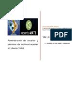 Administración de Usuarios y Permisos de Archivos