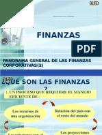 Panorama General de Las Finanzas 2