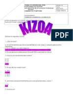 CUESTIONARIO KIZOA