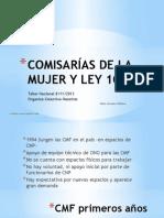 Comisarías de La Mujer y La Familia y La Ley 103 en Ecuador