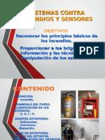 Sistemas Contra Incendios y Sensores