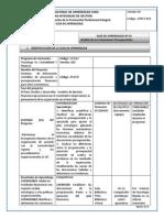 Analisis de Las Variaciones Presupuestales