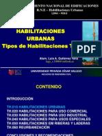 Habilitaciones Urbanas - RNE