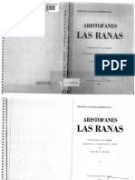 08a. Aristófanes - Las Ranas (Trad. Stavrou)