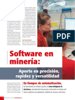Softtware en Minera Chilena