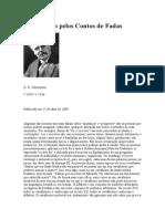 A Educação Pelos Contos de Fadas (Chesterton)