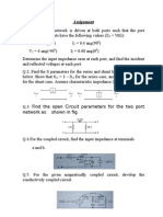 Circuit Theory AssignmentAssignment