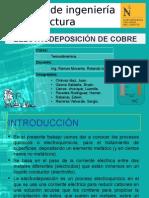 Electrodeposicion de Cobre