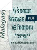 Malagasy ~ Ministry Gifts