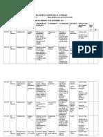 Planificación de La Unidad Semana 10 Al 14 Noviembre