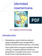 identidad lationoamericana