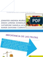 Fundamentos de La Conservación de Frutas (1)