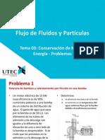 Tema 03 - Conservación de Masa y Energía - Problemas