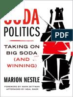 Soda Politics Taking on Big Soda (and Winning)
