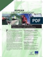 EUROPEAN FREIGHT TRANSPORT
