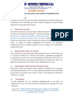 Informe - Obra Centenarios