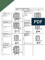 Mas 059 2015 Drg 001 Schedule of Aluminium Doors Drg 001