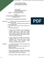 Contoh Sk ( Surat Keputusan ) Pengangkatan Pegawai Akutansi