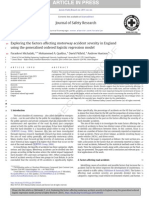 Exploring the Factors Affecting Motorway Accident Severity in England
