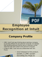 Employee Recognition at Intuit