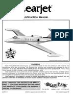 Lear Jet Manual Planos Geat Plane